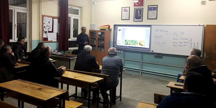 Seydişehir'de organik tarım kursu