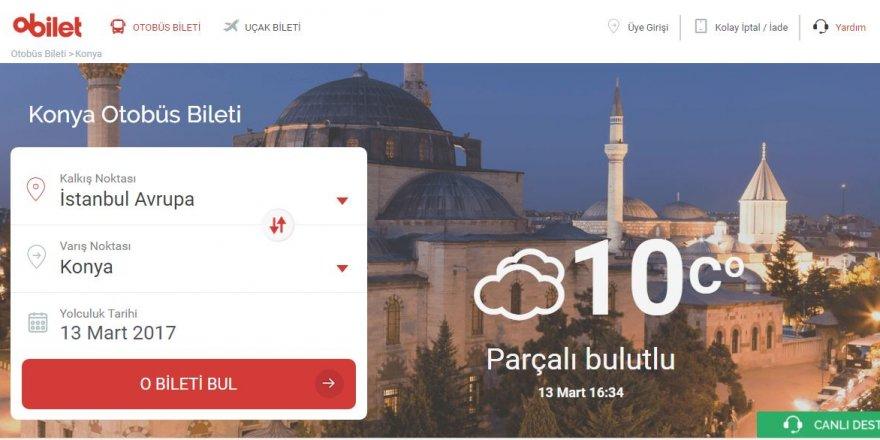 Online Otobüs/Uçak Bileti Rehberi