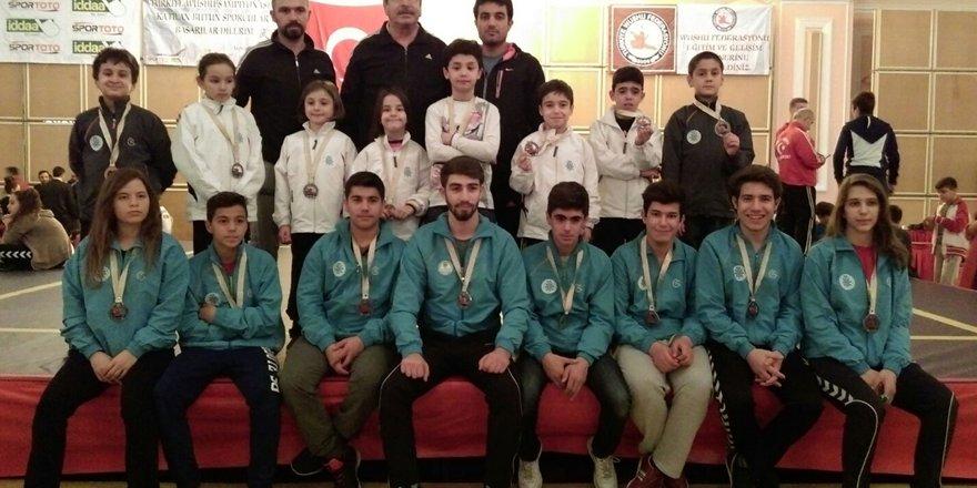 Wushu takımı şampiyona yolcusu