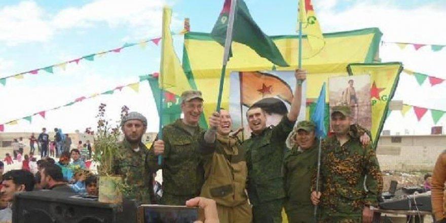 YPG flamalı Rus askerleri