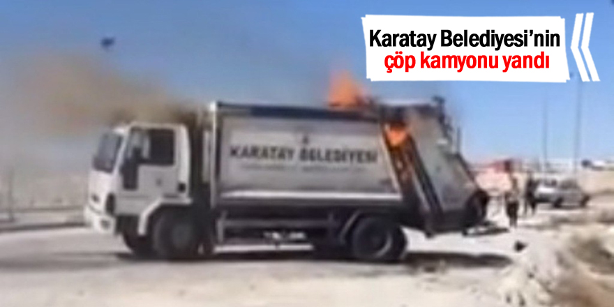 Karatay Belediyesi Nin Cop Kamyonu Yandi