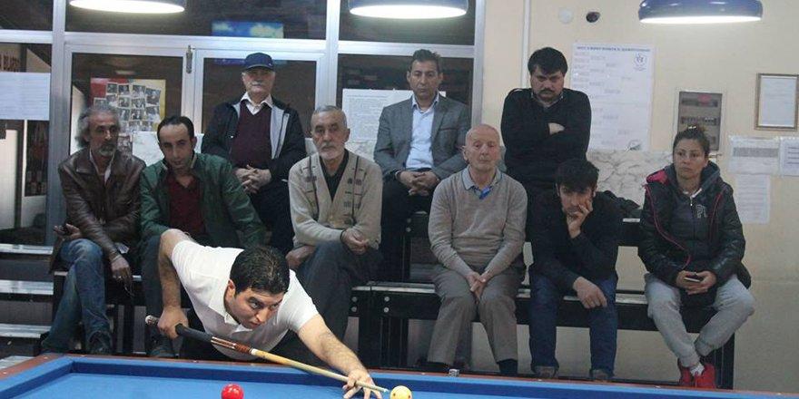 Bilardoda Çanakkale Zaferi Turnuvası yapıldı