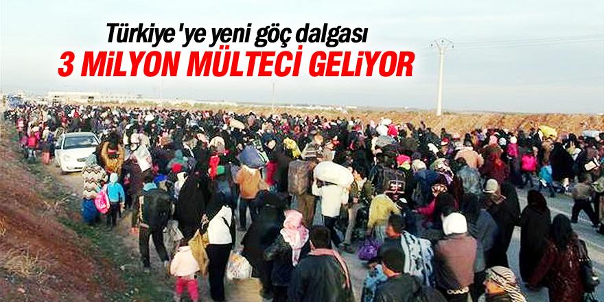 Veysi Kaynak: 3 milyon mülteci gelebilir