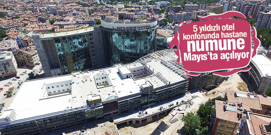 Numune Hastanesi Mayıs'ta açılıyor