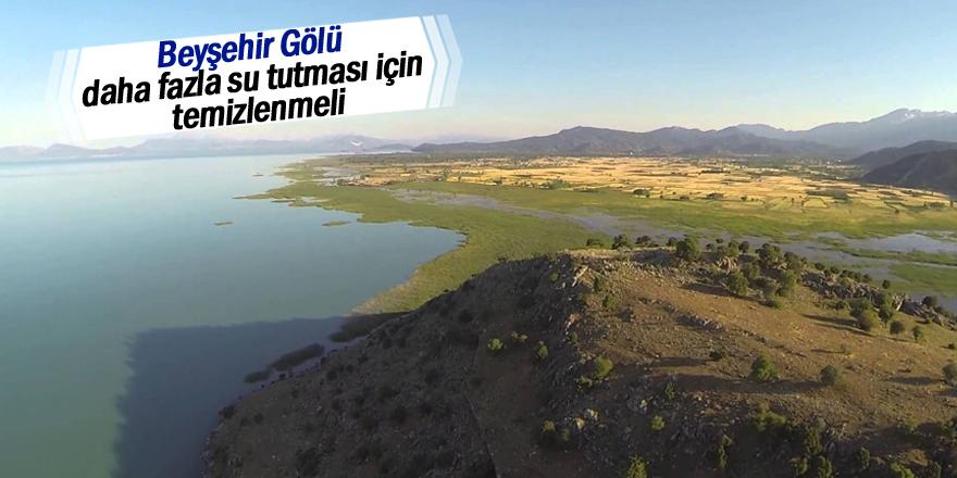 Beyşehir Gölü'nün temizlenmesini istiyoruz