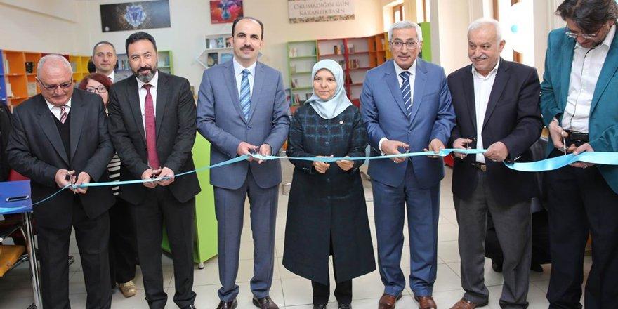Selçuklu'dan 7 okula daha yeni kütüphane