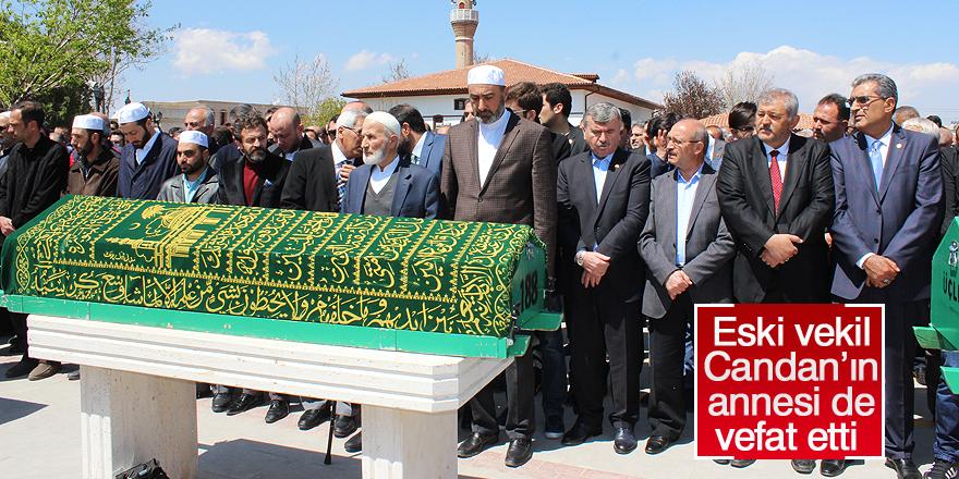 Muharrem Candan'ın annesi de vefat etti
