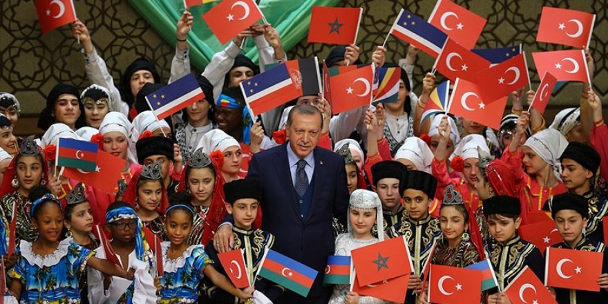 Erdoğan, Nâzım Hikmet'in şiirini okudu