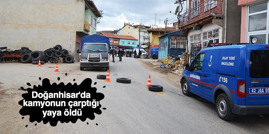 Doğanhisar'da trafik kazası: 1 ölü