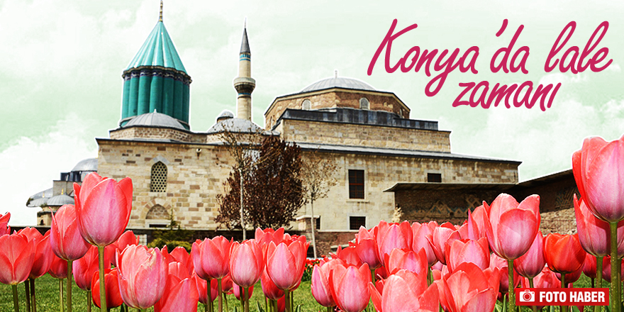 Milyonlarca lale Konya'yı süslüyor