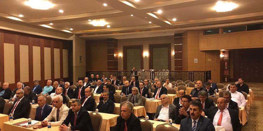 Ahmet Özen toplantıya katıldı