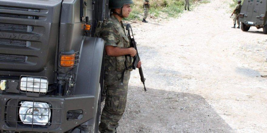 Erzurum'da çatışma:2 asker yaralı