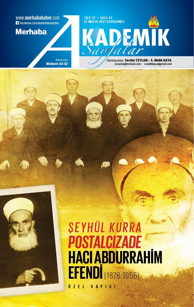 Cilt-17, Sayı-15, 17 Mayıs 2017