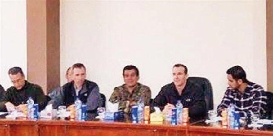 Amerika ile PKK arasında şok toplantı