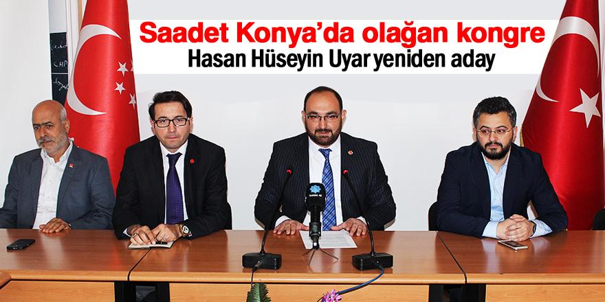 Saadet Konya'da olağan kongre