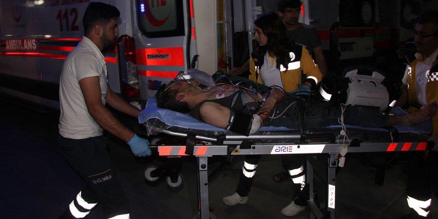 Ekmek fabrikasında çalışan Suriyeli yaralandı