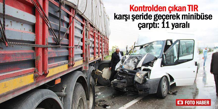 Konya'da kaza: 11 yaralı