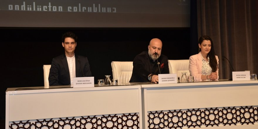 Payitaht dizisinin oyuncuları Konyalılarla buluştu