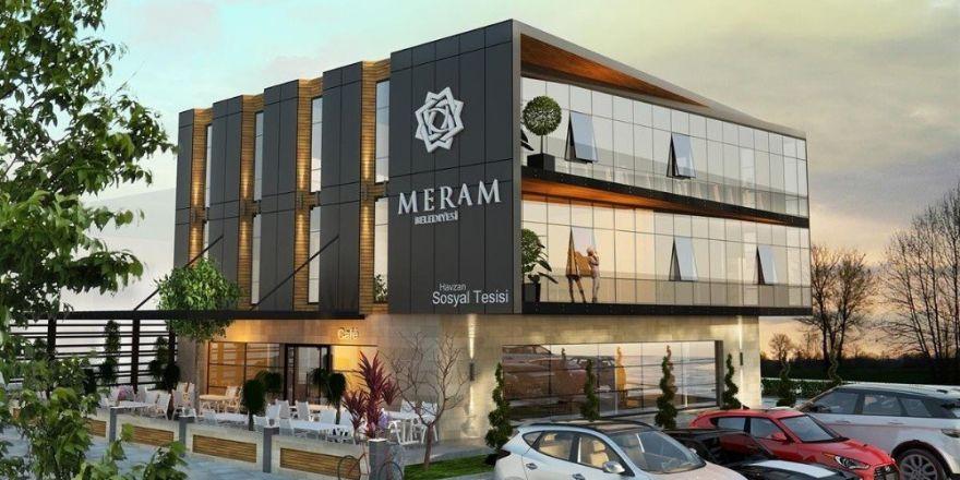 Meram Belediyesinden Havzan Mahallesine sosyal tesis