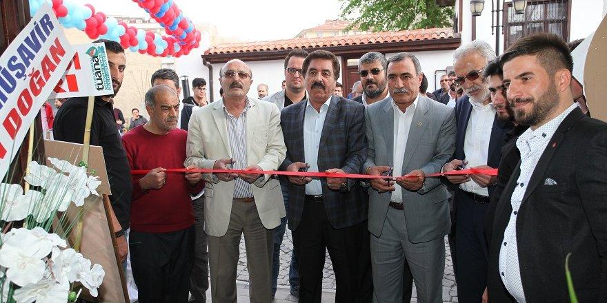 Tarihi Nasip Konağı Mengüç Caddesi'nde açıldı