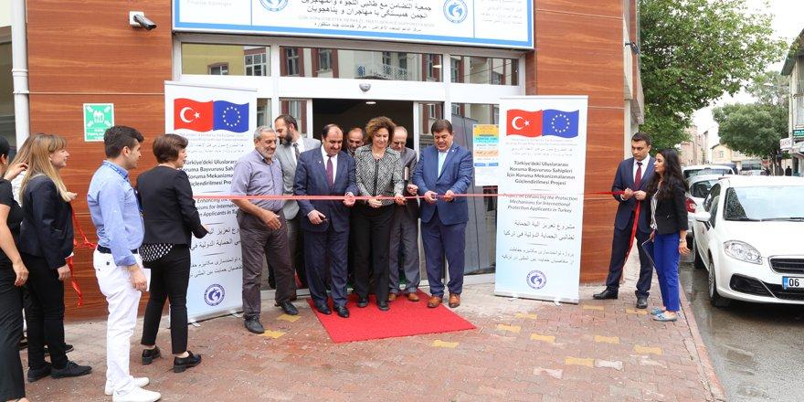 """Konya'da """"Çok Yönlü Destek Merkezi"""" açıldı"""