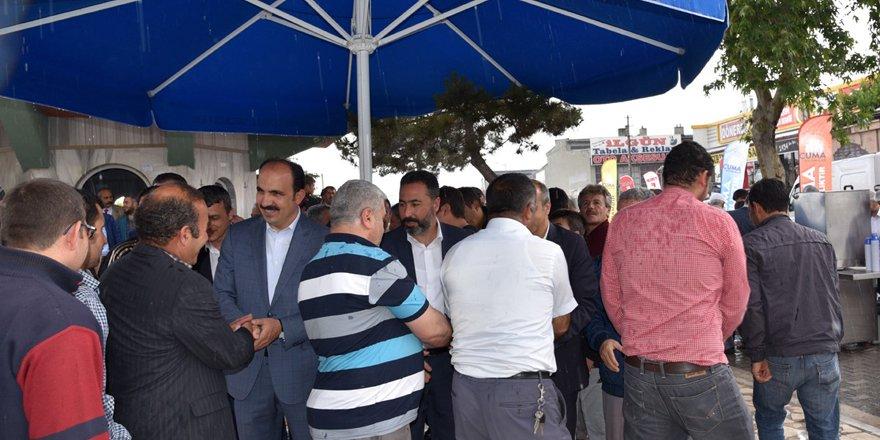 """Başkan Altay, """"Komşuluğu geliştirmeliyiz"""""""