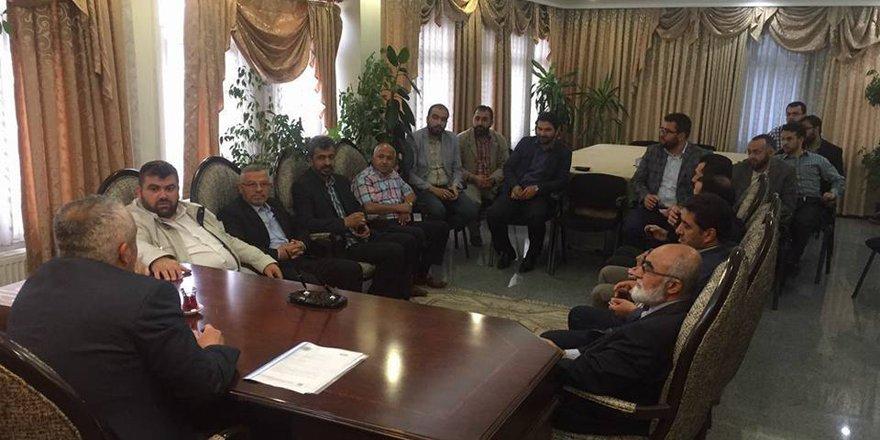 AGD'den Saadet'e hayırlı olsun ziyareti