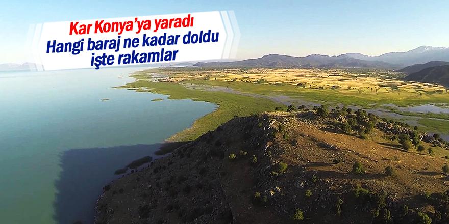 Baraj ve depolarda doluluk oranı arttı