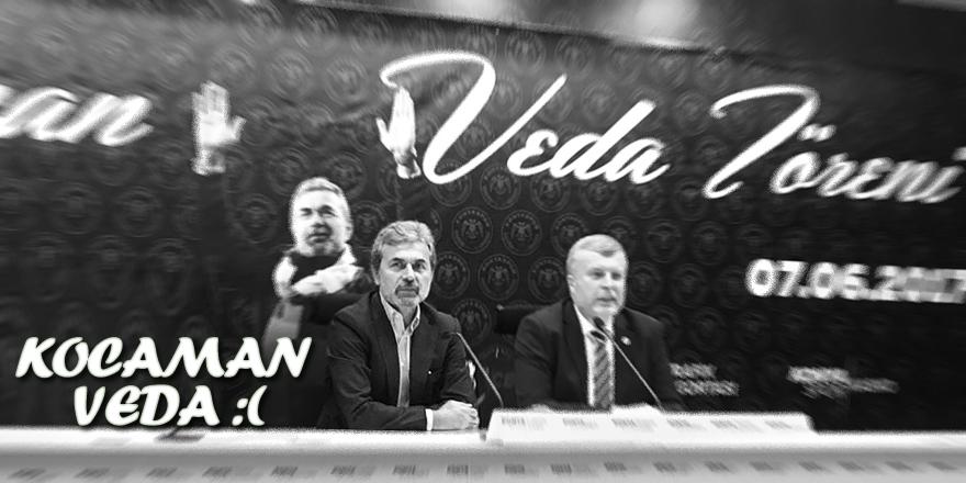 Aykut Kocaman, Konyaspor'a veda etti