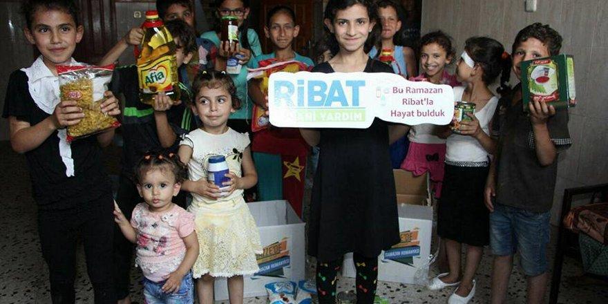 Ribat Gazze'de Ramazan sevincine ortak oluyor