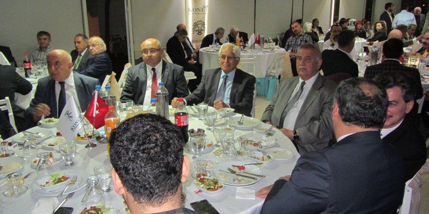 Başkentteki Konyalılar iftar yemeğinde buluştu
