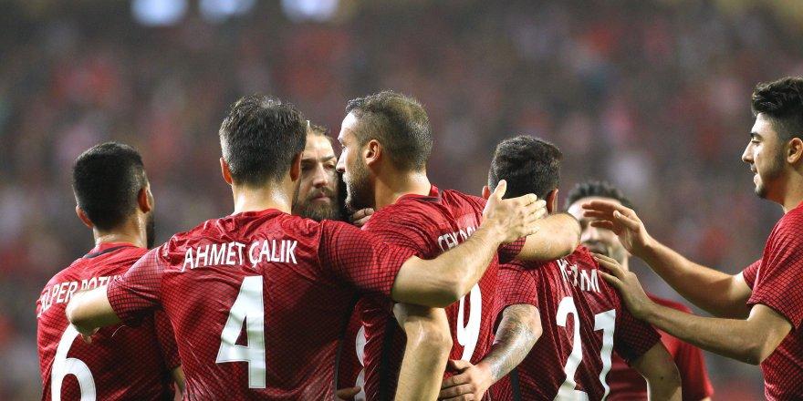 Kosova-Türkiye maçı muhtemel 11'leri