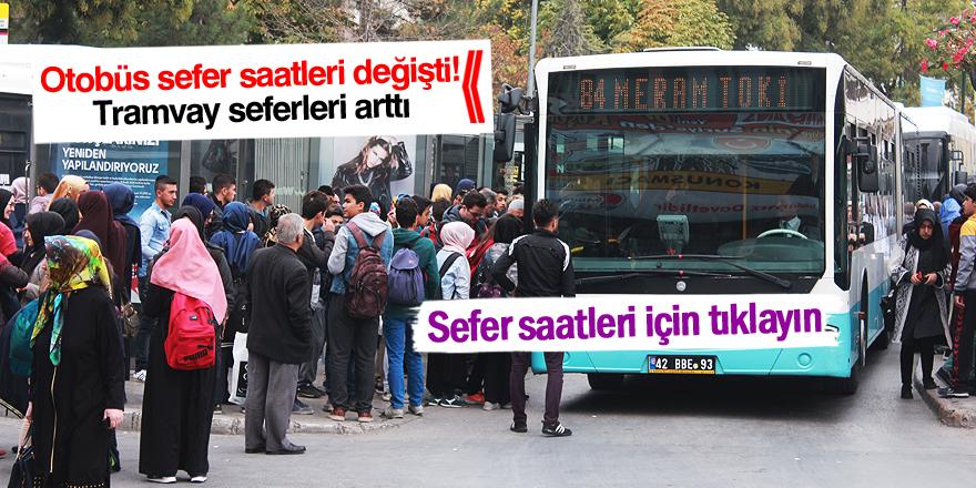 Büyükşehir'den Toplu Ulaşım Duyurusu