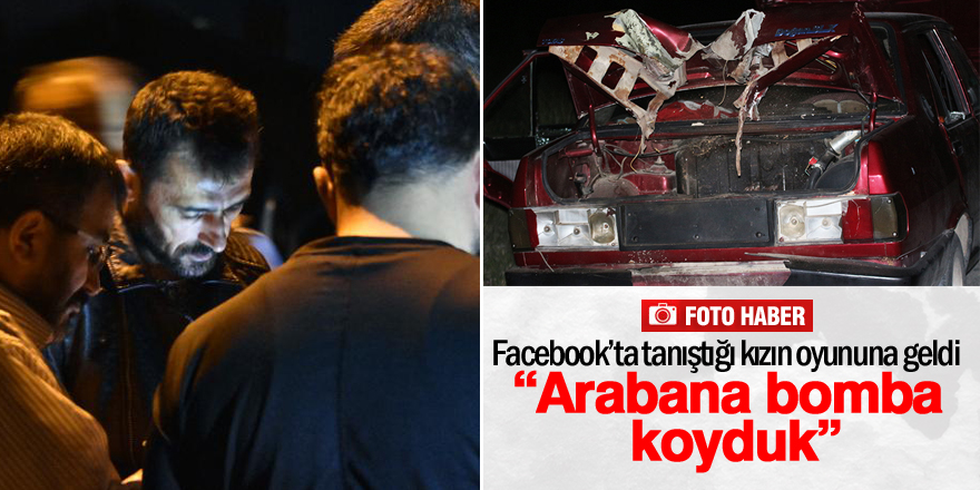 Konya'da bombalı araç alarmı