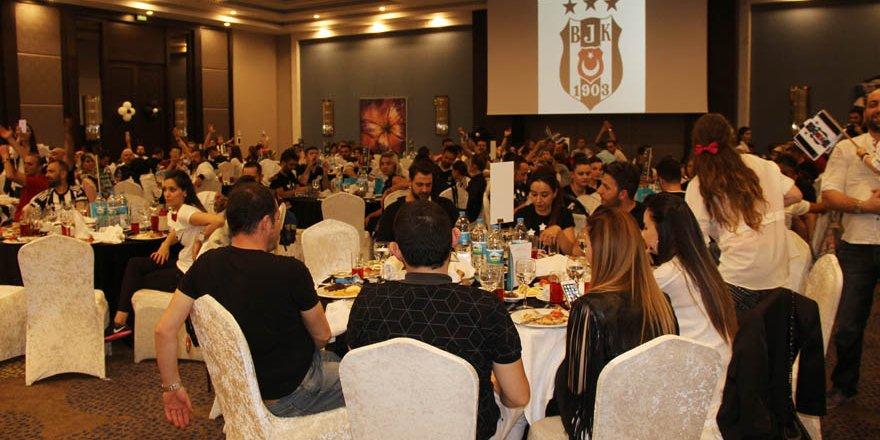Beşiktaşlılar iftar programında bir araya geldi