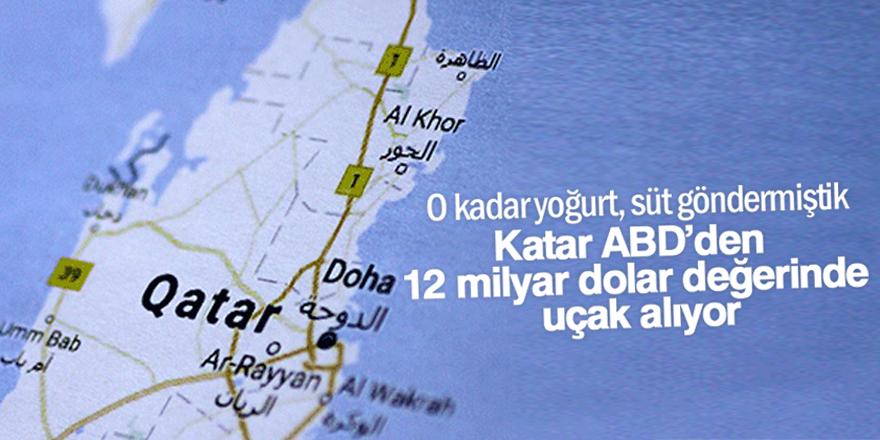 Katar ABD'den 12 milyar dolar değerinde uçak alıyor