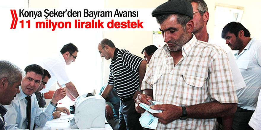 Konya Şeker'den Bayram Avansı