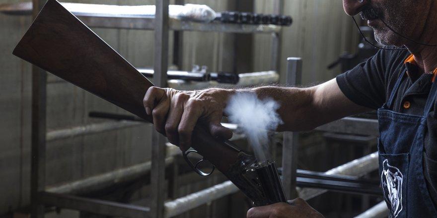 Amerikalı avcıların tüfeği Konya'dan