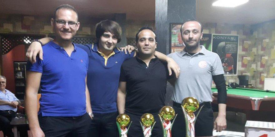Bilardoda şampiyon Sami Erkan Köylü oldu