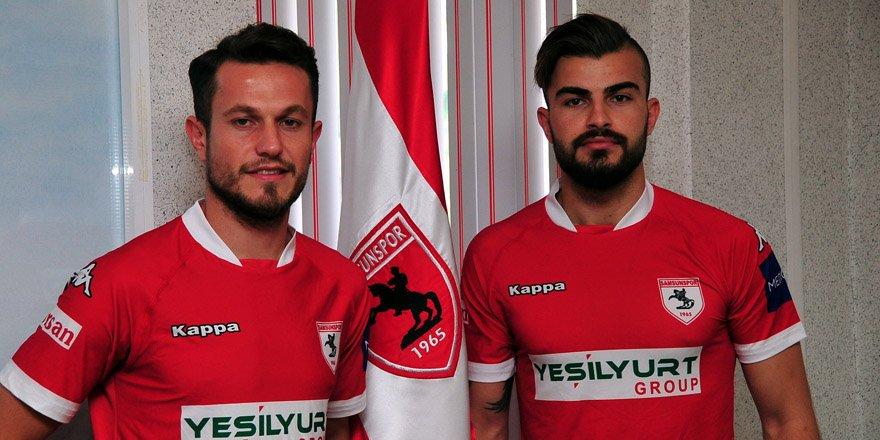 Konya'dan Samsun'a iki  oyuncu