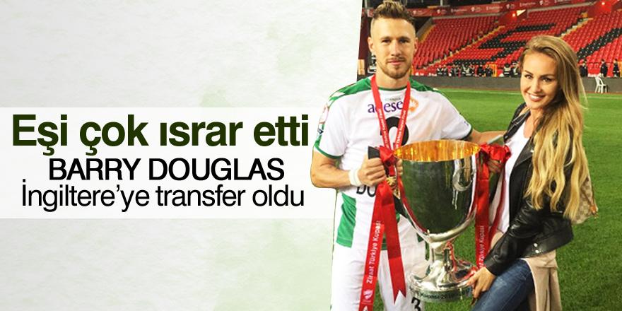 Barry Douglas, İngiltere'ye transfer oldu