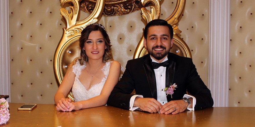 Ali Ataman'ın torunu Büşra evlendi