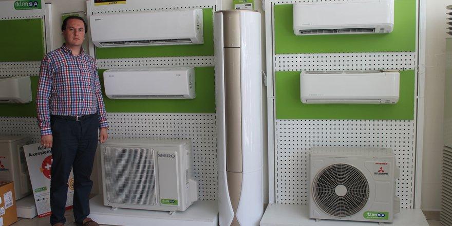 Sıcaklar klima satışını artırdı
