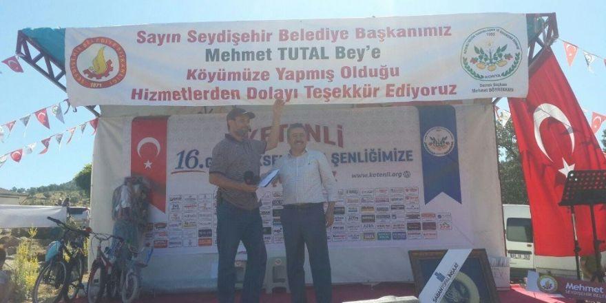 Seydişehir'de Geleneksel Ketenli Şenliği yapıldı