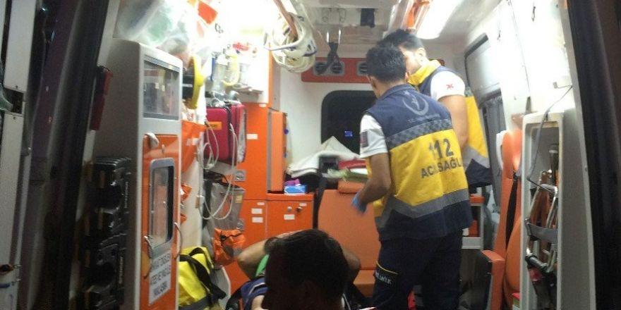 Kulu'da trafik kazası 1 yaralı