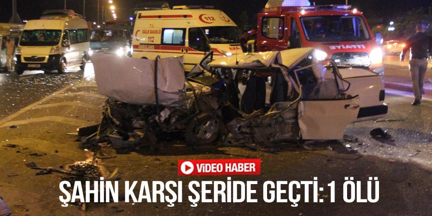 Konya'da feci kaza: 1 ölü: 7 yaralı