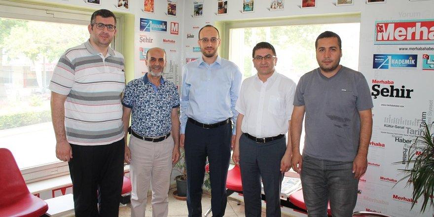 MÜSİAD'dan Merhaba Gazetesi'ne ziyaret