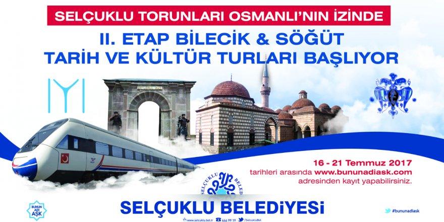 Bilecik-Söğüt kültür turlarına son başvuru cuma günü