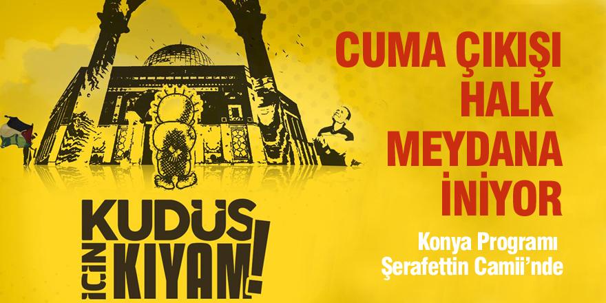 Aksa için Şerafettin Camii'nde toplanılacak