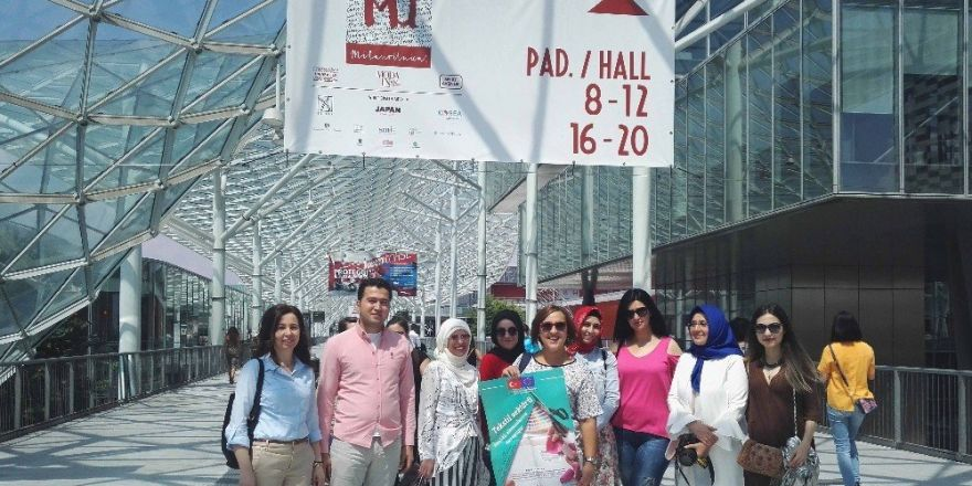 Başarılı kadın kursiyerler İtalya gezisi ile ödüllendirildi